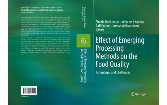 Les technologies émergentes dans l'agroalimentaire - Mohamed koubaa - ESCOM Chimie- alimentation