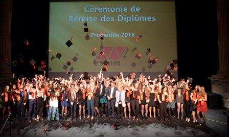 Remise des diplômes ESCOM Chimie 2018